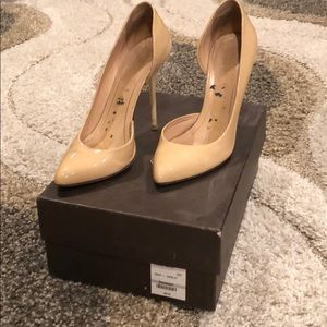 Gucci Nude Patent Pumps